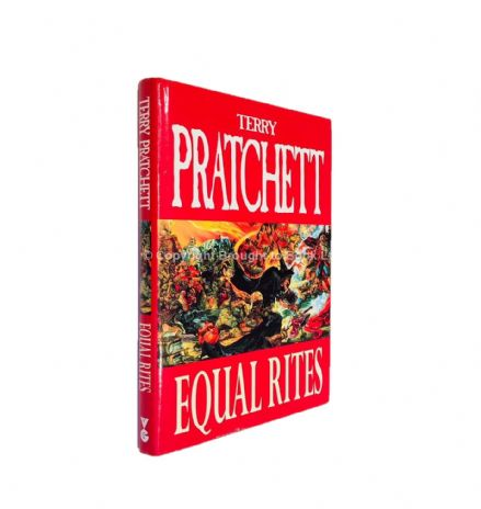 Equal Rites Signed by Terry Pratchett First Thus Victor Gollancz 1996